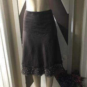 Oscar de la renta 100% cotton lined Skirt.